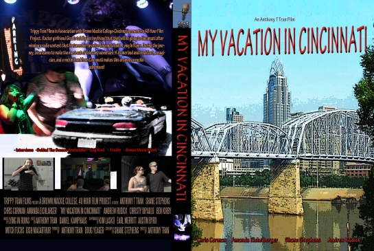 My Vacation In Cincinnati - DVD cover