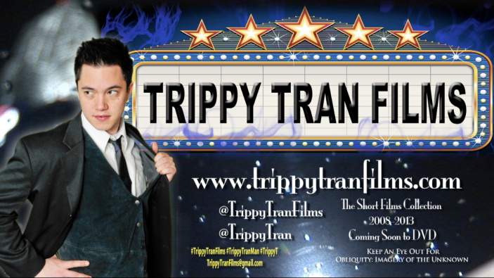 Trippy Tran Films - Short Film Promo Logo ss