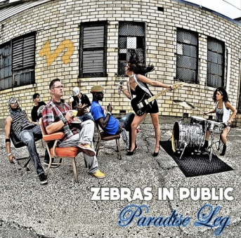 Paradise Leg - Zebras In Public (Album Cover on iTunes)