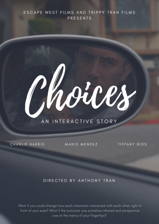 Choices - An Interactive Story Teaser Poster - Ian Sideview Mirror
